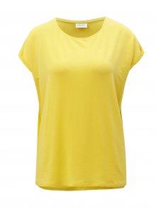 Žluté oversize tričko VERO MODA Ava