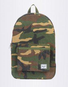 Herschel Supply Packable Daypack Woodland Camo