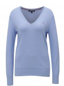 Světle modrý dámský lehký svetr Tommy Hilfiger