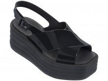 Zaxy černé letní boty na platformě Hi-Lo Sandal Plat Fem Black