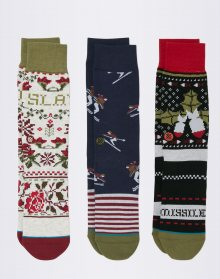 Stance Holiday 3-Pack MULTI 43-46