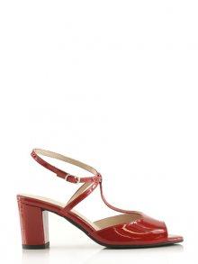 Bosccolo Dámské sandály na podpatku 3959_red