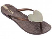 Ipanema bronzové žabky Maxi Fashion II Fem Bronze/Gold - 35/36