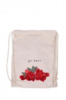 Vak Canvas Premium Go Away Rose s nášivkou