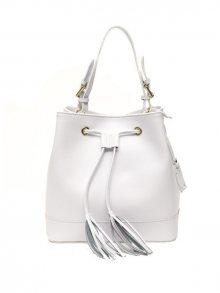 Trussardi Collection Dámská kabelka 430 PIEA_Bianco/White\n\n