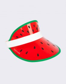Sunnylife Retro Sun Visor Watermelon S8JSUNWM