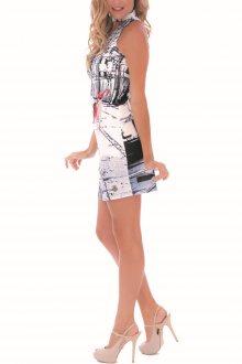 Culito from Spain černo-bílé šaty Bambi