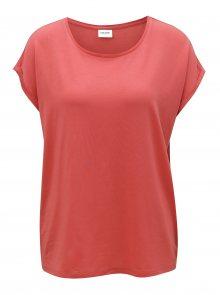 Červené oversize tričko VERO MODA Ava