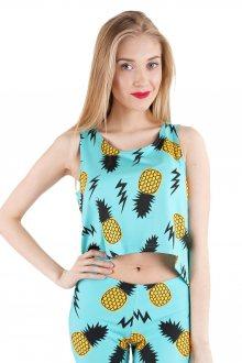 Top Fullprint Pineapple