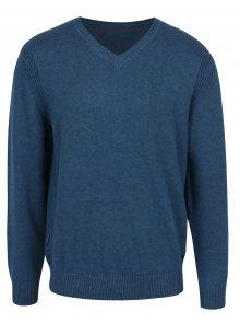 Modrý pánský svetr  BUSHMAN Freer