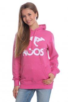 Kangaroos Dámská mikina Roos American T0659_ss15 růžová