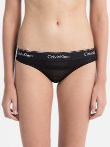 Calvin Klein černé síťované kalhotky Bikini