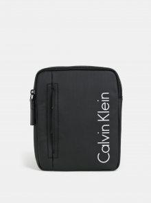 Černá malá pánská crossbody taška Calvin Klein