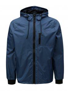 Modrá bunda s kapucí Blend