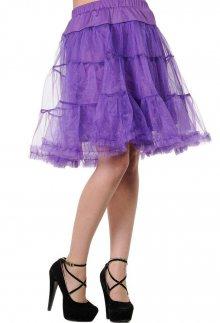 sukně dámská (spodnička) BANNED - Purple - SBN203 S