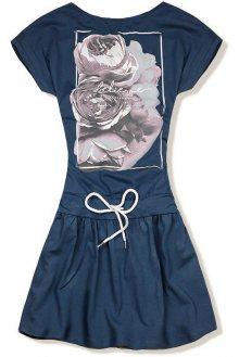 Jeans modré šaty BELIEVE