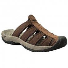 KEEN Pánské pantofle Waterfront Men Aruba II Dark Earth/Mulch 42-43