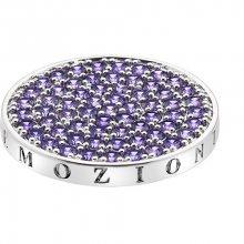 Hot Diamonds Přívěsek Emozioni Scintilla Violet Spirituality EC352_EC353 25 mm