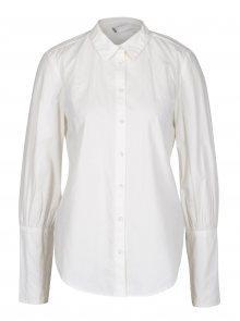 Krémová košile VILA Blaine