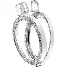 Hot Diamonds Přívěsek Emozioni Reversible Coin Keeper DP487_DP486 3,3 cm