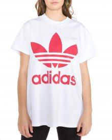 Big Trefoil Triko adidas Originals   Bílá   Dámské   36