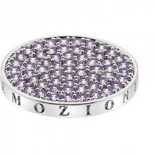Hot Diamonds Přívěsek Emozioni Scintilla Lavender Calmness EC350_EC351 25 mm