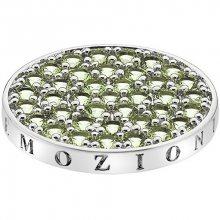 Hot Diamonds Přívěsek Emozioni Scintilla Peridot Nature EC348_EC349 25 mm