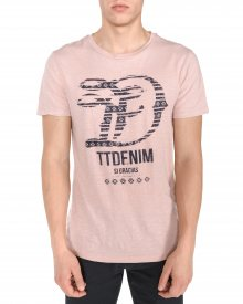 Triko Tom Tailor Denim | Růžová Béžová | Pánské | M