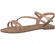 Tamaris Dámské sandále 1-1-28113-20-901 Copper 39
