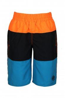 Sam 73 Chlapecké koupací šortky Sam 73 oranžová melír neon 116