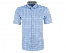 s.Oliver Pánská košile 13.806.22.2173.55N6 Royal Blue M