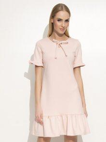 Makadamia Dámské šaty_powder pink\n\n