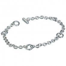 Hot Diamonds Stříbrný náramek s diamantem Charm Elegance DL061