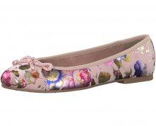 Tamaris Dámské baleríny 1-1-22142-20-584 Rose Flower 38