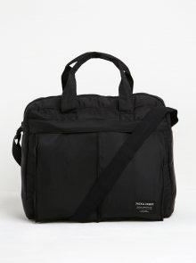 Černá taška na notebook Jack & Jones Jones