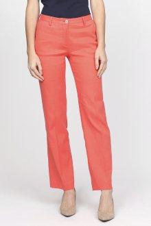 Kalhoty GANT O2. LINEN SLACKS