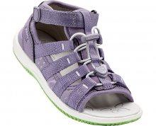 KEEN Dětské sandály Hadley Purple Sage/Greenery 27-28