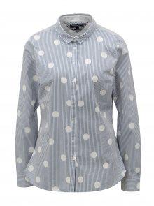 Modro-bílá dámská pruhovaná košile Tommy Hilfiger