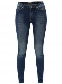 Modré super slim džíny Selected Femme Fida