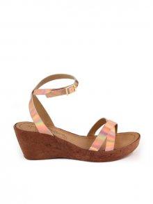 Miss Butterfly Dámské sandály MB91_SALMON_ROSE