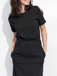 Numinou Dámské šaty NU_nu47_black