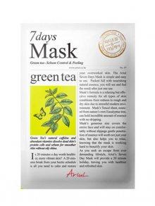 Ariul Antioxidační textilní maska na obličej - zelený čaj 20g\n\n