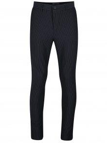 Tmavě modré pruhované kalhoty ONLY & SONS Peer