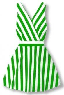 MODOVO Elegantní dámské šaty 8512 zelené