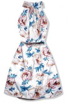 Šaty s potiskem květů
