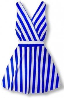 MODOVO Elegantní dámské šaty 8512 modré
