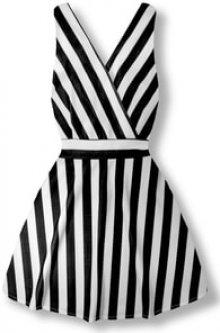 MODOVO Elegantní dámské šaty 8512 černé
