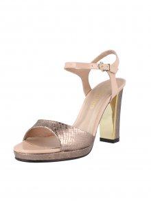 El Dantes Dámské sandály D16162-43NUDE