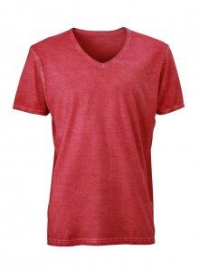 Pánské tričko Gipsy - Sytě červená S