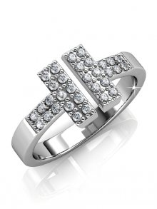 Geneva Crystals Dámský prsten W-R39\n\n